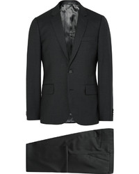 Traje de lana en gris oscuro de Paul Smith