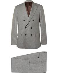 Traje de lana gris de Brunello Cucinelli
