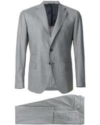 Traje de lana gris de Eleventy