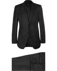 Traje de lana negro de Tom Ford