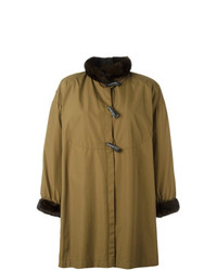 Trenca verde oliva de Yves Saint Laurent Vintage