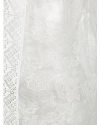 Túnica playera bordado blanco de Ermanno Scervino
