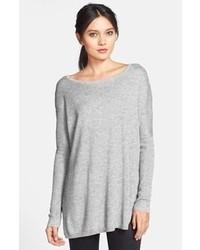 Tunique en laine grise