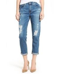 Vaqueros Boyfriend Azules de AG Jeans