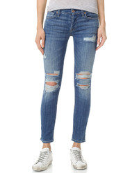 Vaqueros boyfriend desgastados azules de 7 For All Mankind