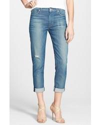Vaqueros boyfriend desgastados azules de Hudson Jeans