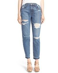 Vaqueros boyfriend desgastados azules de Joe's Jeans