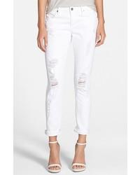 Vaqueros Boyfriend Desgastados Blancos de James Jeans