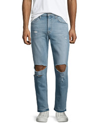 Vaqueros desgastados celestes de Joe's Jeans