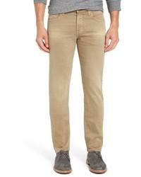 Vaqueros marrón claro de AG Jeans