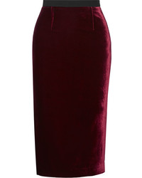 Velvet pencil skirt original 7881537