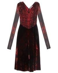Velvet skater dress original 10327922
