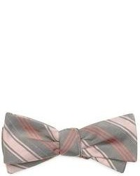Vertical Striped Bow-tie