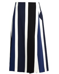 Vertical striped midi skirt original 1475244