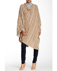 Vertical striped poncho original 10214840