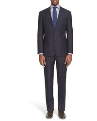 Vertical Striped Suit