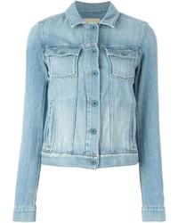 Veste en jean bleue claire Paige Denim