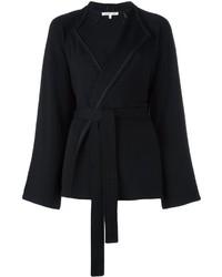 Veste en laine noire Helmut Lang
