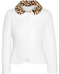Veste imprimée léopard blanche Maison Margiela