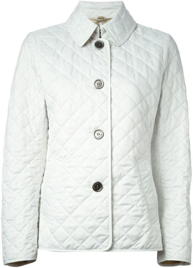 Populaire Veste matelassée blanche Burberry: Où acheter et comment porter ON47