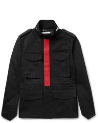 Veste style militaire noire Givenchy
