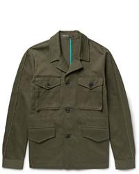 Veste style militaire olive Paul Smith