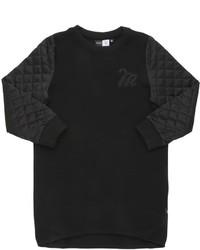 Vestido acolchado negro de Molo