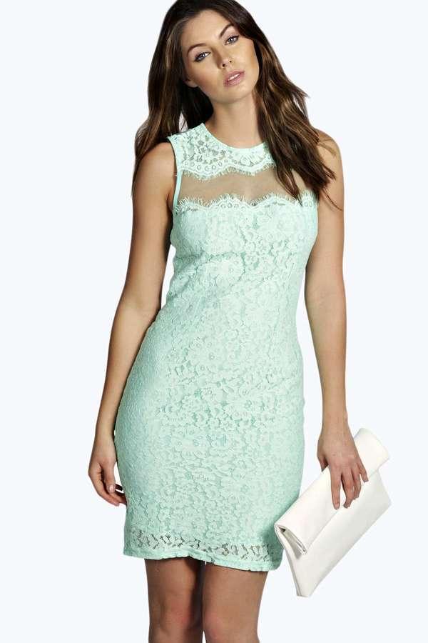 Con que combinar un vestido verde menta