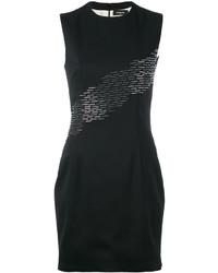 Vestido ajustado de lentejuelas negro de Dsquared2
