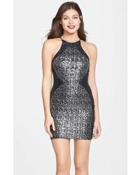 2e7c972417ec Comprar un vestido ajustado de lentejuelas plateado de Nordstrom ...