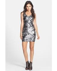 603d25153805 Comprar un vestido ajustado de lentejuelas plateado: elegir vestidos ...
