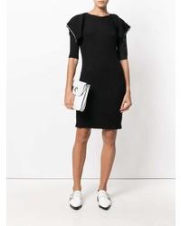Vestido ajustado de punto negro de Sonia Rykiel