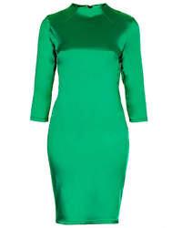 Vestido ajustado verde