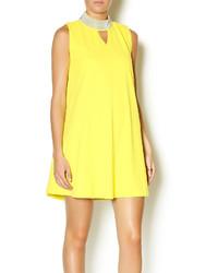 Vestido amplio amarillo