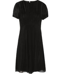Vestido amplio de seda negro de Marc by Marc Jacobs