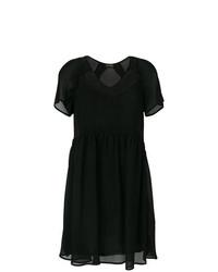 Vestido amplio negro de Twin-Set
