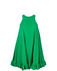 Vestido amplio verde de MSGM