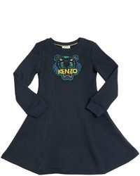 Vestido Azul Marino de Kenzo