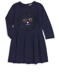 Vestido Azul Marino de Little Marc Jacobs