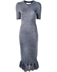 Vestido azul de Victoria Beckham