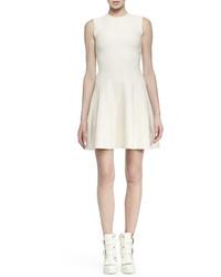 Vestido blanco de Alexander McQueen