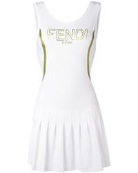Vestido blanco de Fendi