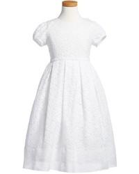Vestido blanco de Isabel Garreton