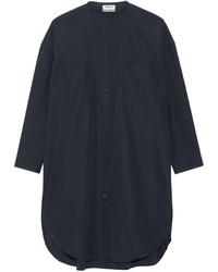 Vestido camisa azul marino de Acne Studios