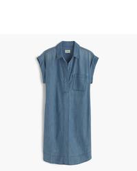 Vestido Camisa Azul de J.Crew