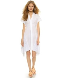 Vestido camisa blanca de 3.1 Phillip Lim