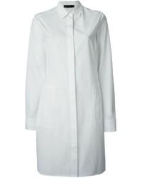 Vestido camisa blanca de Calvin Klein
