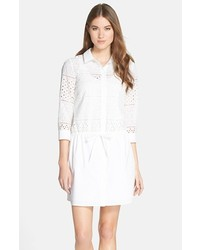 Vestido camisa blanca de Cynthia Steffe