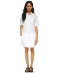 Vestido camisa blanca de DKNY