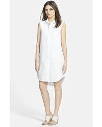 Vestido camisa blanca de Eileen Fisher